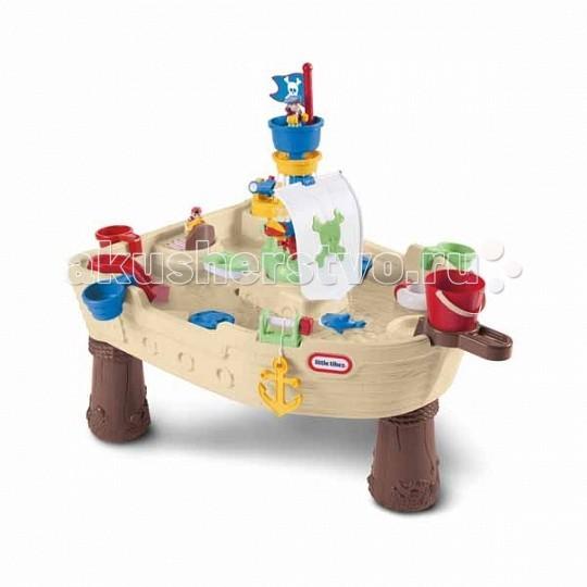 Little Tikes Столик-песочница Пиратский корабль 628566
