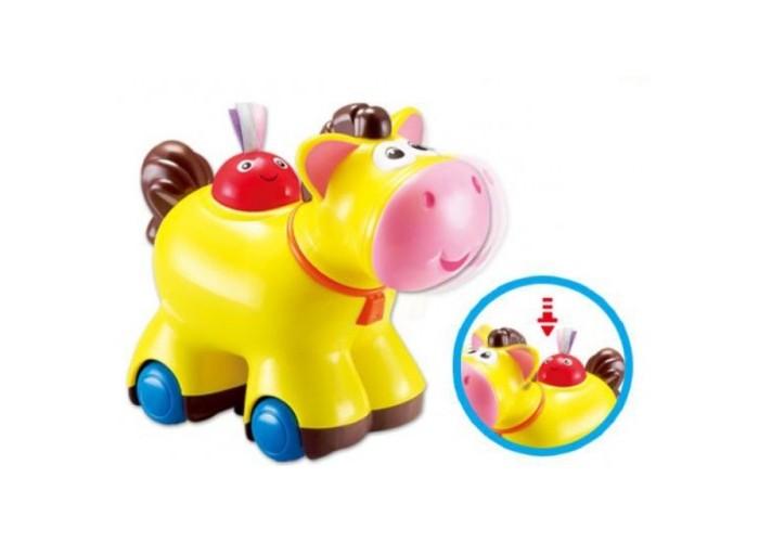 Каталки-игрушки S+S Toys Лошадка фигурки игрушки s s развивающая игрушка