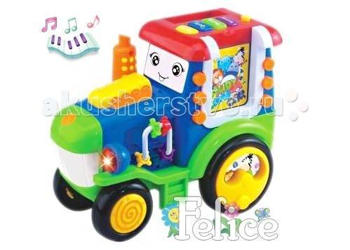 Felice Музыкальная игрушка Трактор