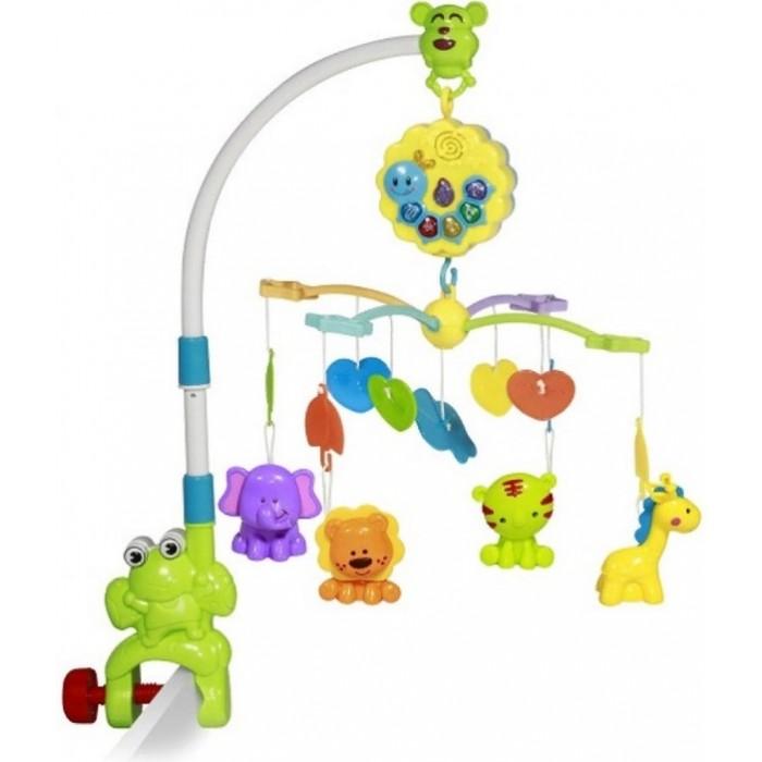 Мобиль Bertoni (Lorelli) на кроватку Музыкальная карусель Toys Лягушонок
