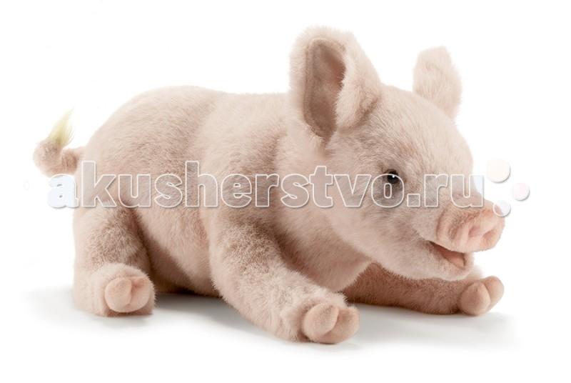 Купить Мягкие игрушки, Мягкая игрушка Hansa Свинка 28 см