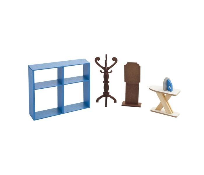 Кукольные домики и мебель Paremo Набор мебели Гардеробная кукольные домики и мебель tigres набор посуды ромашка на 4 персоны большой