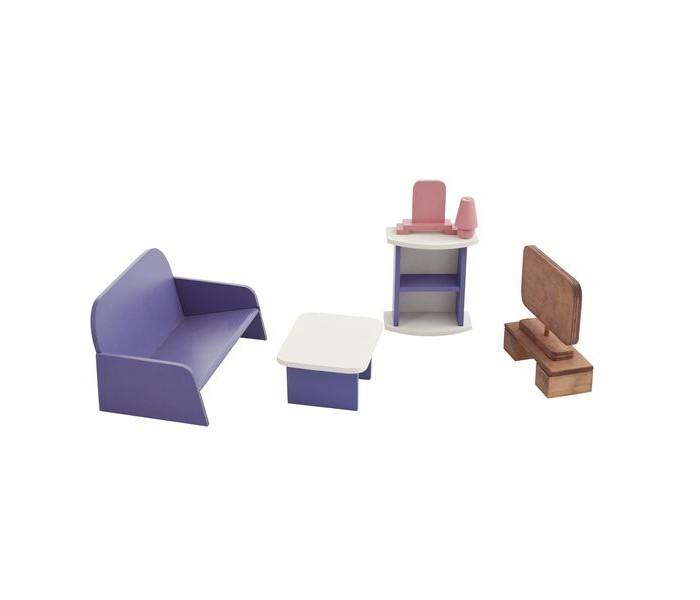 Кукольные домики и мебель Paremo Набор мебели Гостиная кукольные домики и мебель tigres набор посуды ромашка на 4 персоны большой