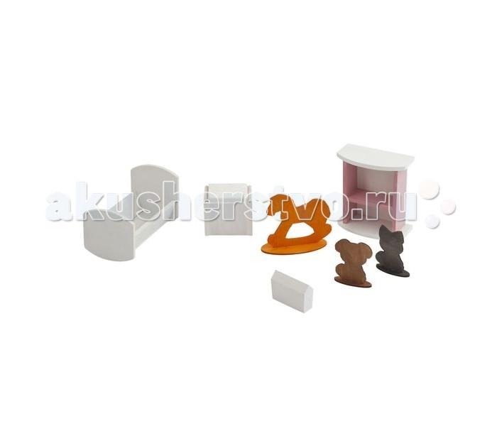 Кукольные домики и мебель Paremo Набор мебели Детская спальня