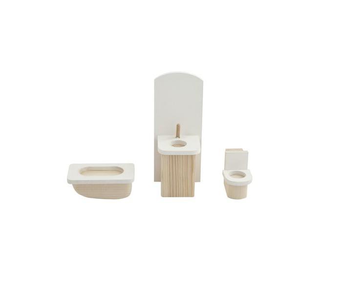 Кукольные домики и мебель Paremo Набор мебели для мини-кукол Ванная комната