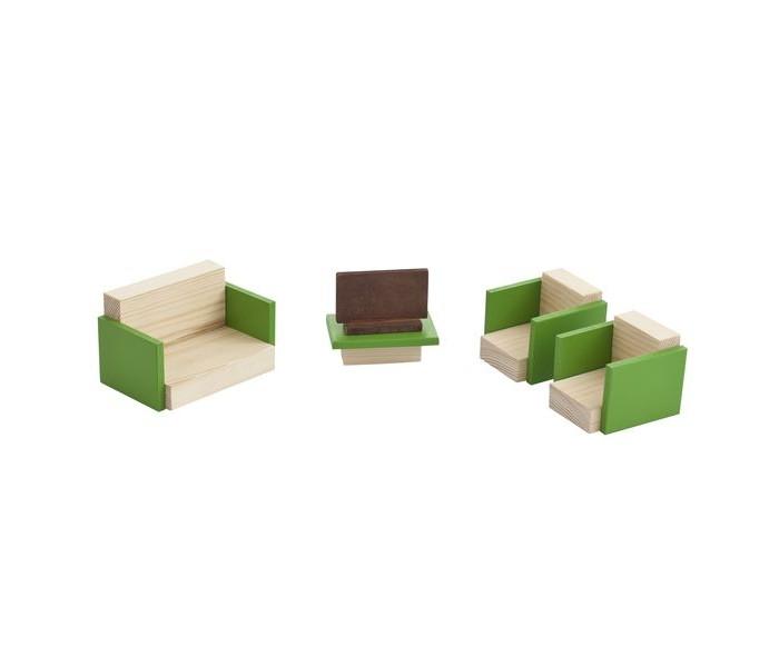 Кукольные домики и мебель Paremo Набор мебели для мини-кукол Гостиная