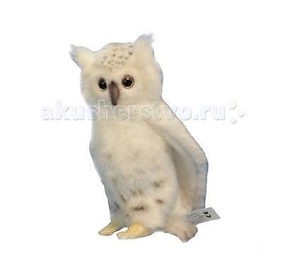 Мягкие игрушки Hansa Сова белая 18 см мягкая игрушка сова hansa сова белая 18 см белый искусственный мех синтепон 6155