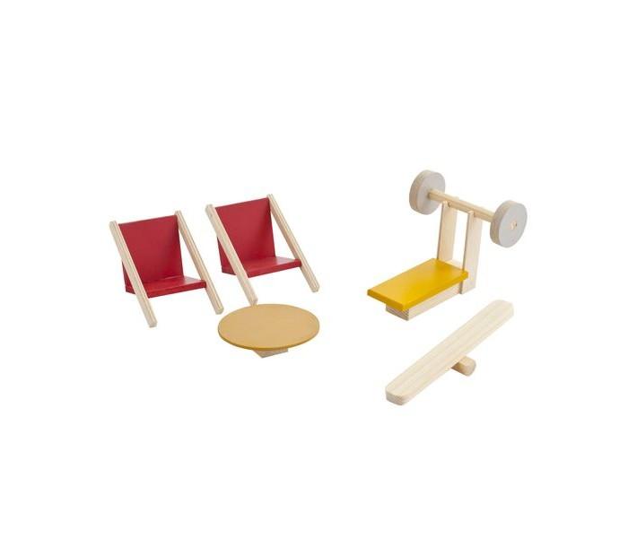 Кукольные домики и мебель Paremo Набор мебели для мини-кукол Спортивный уголок