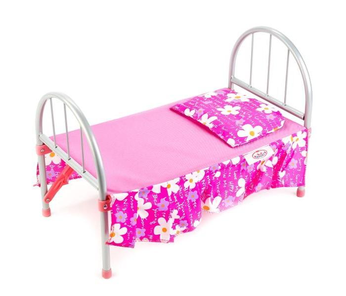 Кукольные домики и мебель Карапуз Комплект для кукольной кроватки (2 предмета)