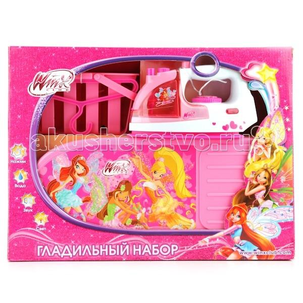 Ролевые игры Играем вместе Гладильный набор Winx top toys гладильный набор