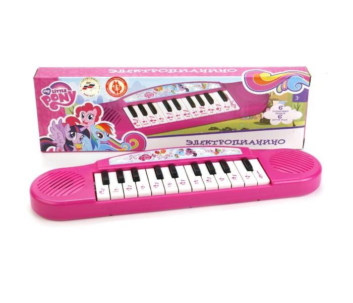 Музыкальные игрушки Умка Электропиантно My little pony умка книги по мультфильмам my little pony книга пианино с 8 клавишами и песенками