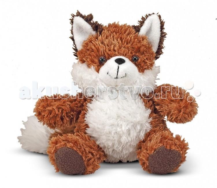 Фото - Мягкие игрушки Melissa Doug Лисенок 20 см мягкая игрушка gulliver пушистый хвостик лисичка 30 см