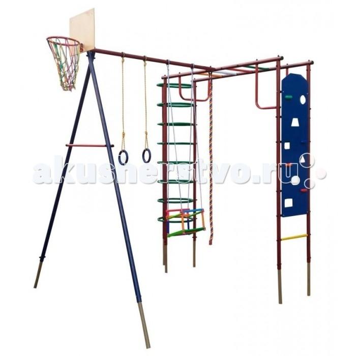 Спортивные комплексы Вертикаль Детский спортивный комплекс Сатурн со скалодромом, Спортивные комплексы - артикул:496981