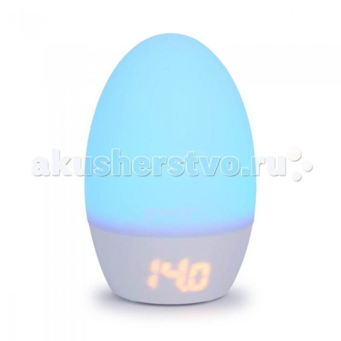 GRO Company Ночник-термометр комнатный GroEGG2 USBНочники<br>GRO Сompany Термометр Комнатный GroEGG2 USB. Цифровой комнатный термометр с ЖК-дисплеем с подсветкой.  Меняет цвет в зависимости от температуры воздуха в комнате Можно пользоваться как ночником Можно регулировать яркость Выполнен из мягкого, приятного на ощупь силикона Запатентованная система изменения цвета, согласующаяся  с маркировкой TOG Grobag. USB разъем.  Высота - 10,6 см. Материал: пластмасса.