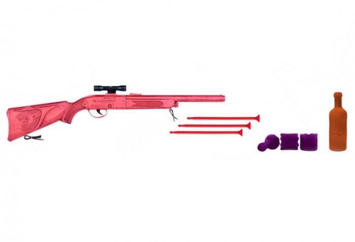 Игрушечное оружие Gonher Игровой набор Стрельба по бутылкам, Игрушечное оружие - артикул:497236