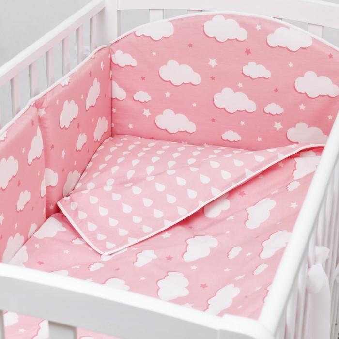 Купить Комплект в кроватку Fluffymoon Gentle Clouds (6 предметов) в интернет магазине. Цены, фото, описания, характеристики, отзывы, обзоры