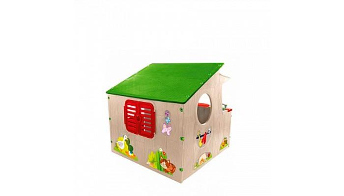 Фото - Игровые домики Mochtoys Домик-ферма 11392 mochtoys раскраска картонный домик 10721