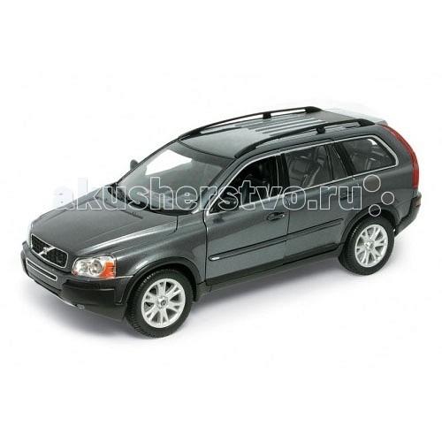 Welly Модель машины 1:18 Volvo XC90Модель машины 1:18 Volvo XC90Модель машины 1:18 Volvo XC90  Коллекционная модель машины масштаба 1:18 Volvo XC90.  Функции: открываются передние двери, капот, багажник, поворотом руля поворачиваются передние колеса.<br>
