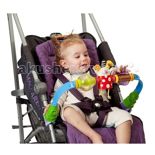 Дуги для колясок и автокресел Taf Toys Дуга для прогулочной коляски 11475 taf toys taf toys 11615 таф тойс музыкальный развивающий мобиль