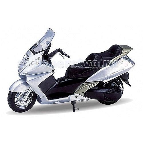 Машины Welly Модель мотоцикла 1:18 Honda Silver Wing welly модель мотоцикла 1 18 motorcycle honda cbr900rr fireblade welly