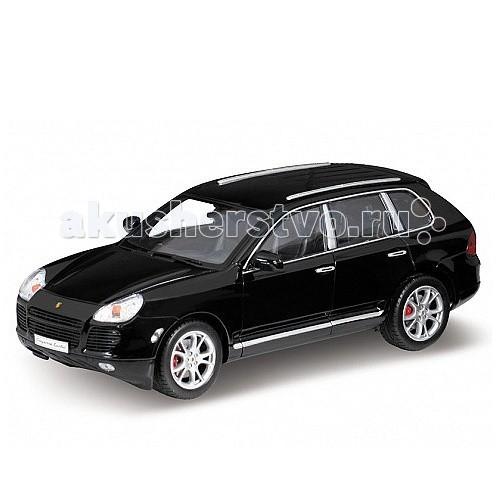 Машины Welly Модель машины 1:18 Porsche Cayenne Turbo машины welly модель машины 1 24 porsche macan turbo