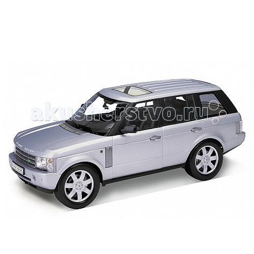 Welly Модель машины 1:18 Land Rover Range RoverМодель машины 1:18 Land Rover Range RoverМодель машины 1:18 Land Rover Range Rover.  Коллекционная модель машины масштаба 1:18 Land Rover Range Rover.  Функции: открываются передние двери, капот, багажник, поворотом руля поворачиваются передние колеса.<br>