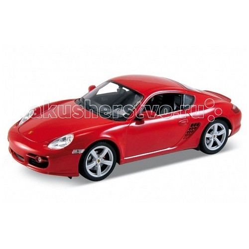 Машины Welly Модель машины 1:18 Porsche Cayman S ens group сумка париж 15х25х38 см