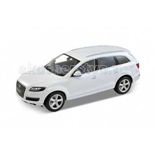 Welly Модель машины 1:18 Audi Q7Модель машины 1:18 Audi Q7Модель машины 1:18 Audi Q7  Коллекционная модель машины масштаба 1:18 Audi Q7.  Функции: открываются передние двери, капот, багажник, поворотом руля поворачиваются передние колеса.<br>