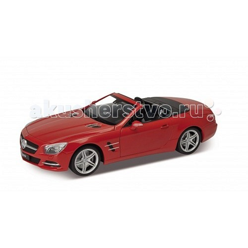 Машины Welly Модель машины 1:18 Mercedes-Benz SL500