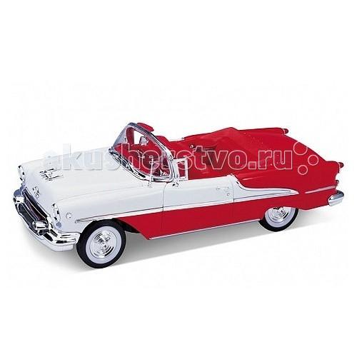 Машины Welly Модель винтажной машины 1:24 Oldsmobile Super 1955 welly welly модель машины газель пожарная охрана