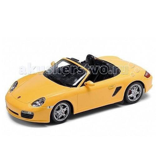 Машины Welly Модель машины 1:24 Porsche Boxster S, convertible welly welly модель машины газель пожарная охрана
