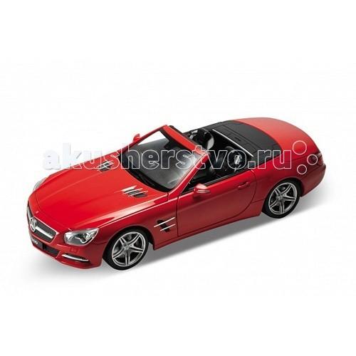 Машины Welly Модель машины 1:24 Mercedes-Benz SL500 welly модель машины 1 24 aston martin v12 vantage welly