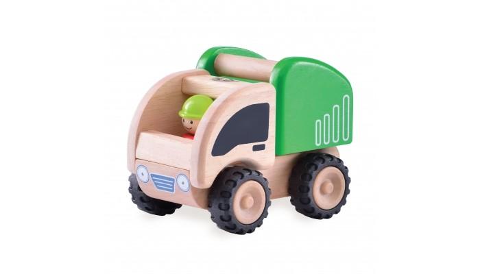 Деревянные игрушки Wonderworld Самосвал Miniworld деревянные игрушки wonderworld трактор му му с прицепом miniworld