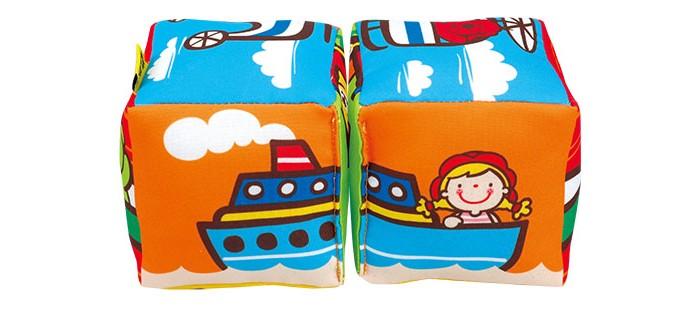 Развивающие игрушки KS Kids Кубики музыкальные Совместика транспорт, Развивающие игрушки - артикул:498976