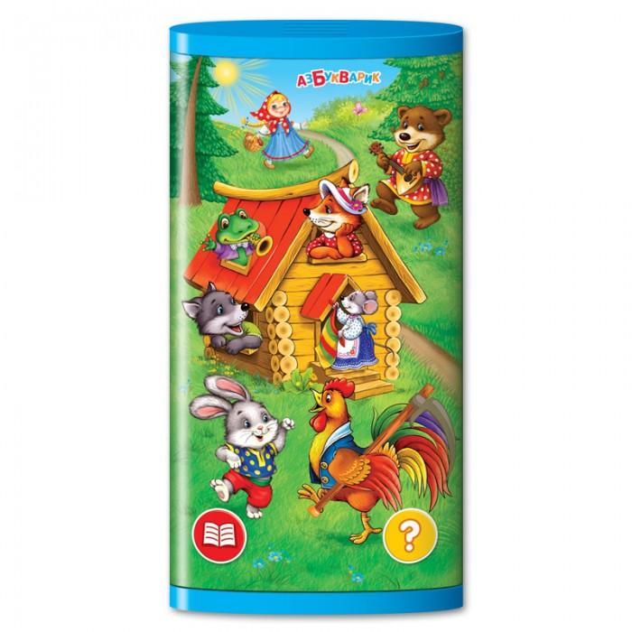 Электронные игрушки Азбукварик Двусторонний смартфончик Теремок сказок электронные игрушки азбукварик смартфончик три медведя
