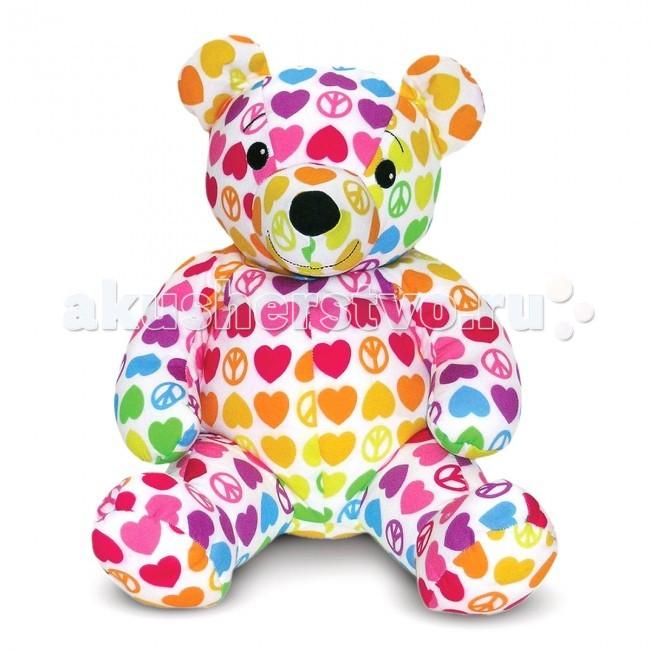 Мягкая игрушка Melissa &amp; Doug Мишка ХоупМишка ХоупМягкая игрушка Melissa & Doug Мишка Хоуп - приносит радость и рождает самые нежные чувства и положительные эмоции к окружающему миру. Эта супер-мягкая игрушка сшита в форме классического плюшевого медведя из очень мягкой ткани флиса, и наполнена маленькими шариками, поэтому ее так приятно держать в руках, обнимать, брать с собой в кровать на ночь. Детишки будут в восторге от своего нового друга.  Мягкая игрушка компании Melissa & Doug отличается высоким стандартом качества и безопасности детских товаров. Игрушка мастерски выполнена из материалов высочайшего качества.<br>