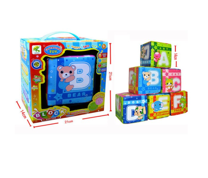 Развивающие игрушки Bertoni (Lorelli) Кубики 100727497