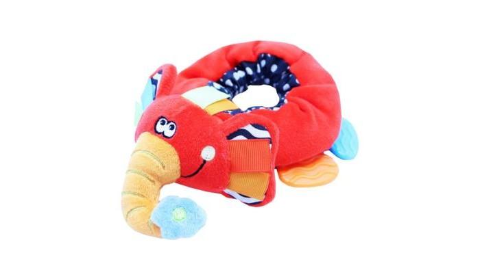 Фото - Прорезыватели ROXY-KIDS Слоненок Элли roxy kids rbt20014 игрушка развивающая слоненок сквикер пищалка внутри размер 18 см