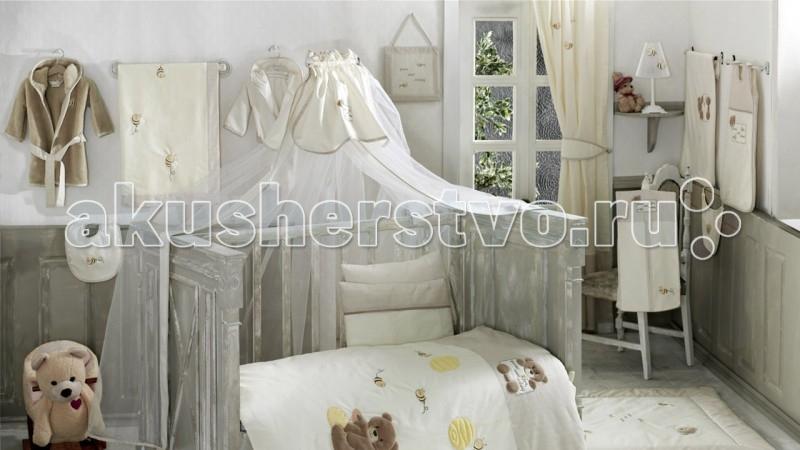 Постельные принадлежности , Балдахины для кроваток Kidboo Honey Bear Linen арт: 50004 -  Балдахины для кроваток