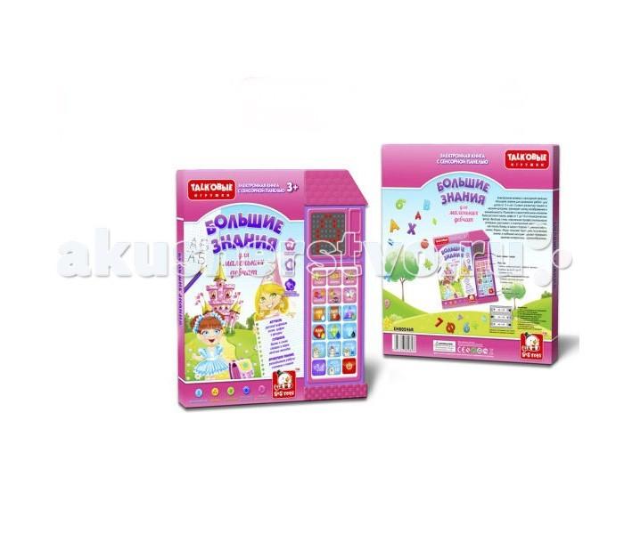 Обучающие плакаты S+S Toys Обучающая книга Большие знания обучающая книга азбукварик я прекрасная принцесса 9785490001553