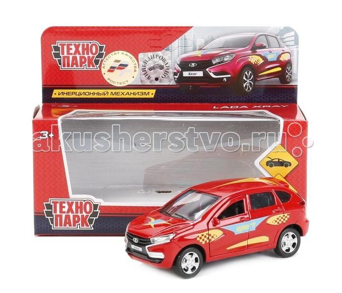 Машины Технопарк Машина металлическая инерционная Lada Xray Sport 12 см технопарк машинка инерционная цвет красный