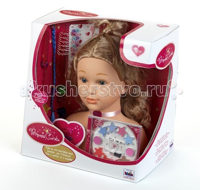 Ролевые игры Klein Модель для макияжа и причесок 33 см манекен голова для причесок оптом