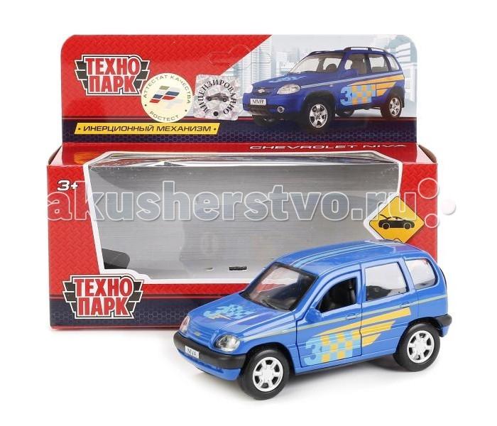 Машины Технопарк Машина металлическая инерционная Chevrolet Niva Sport 12 см
