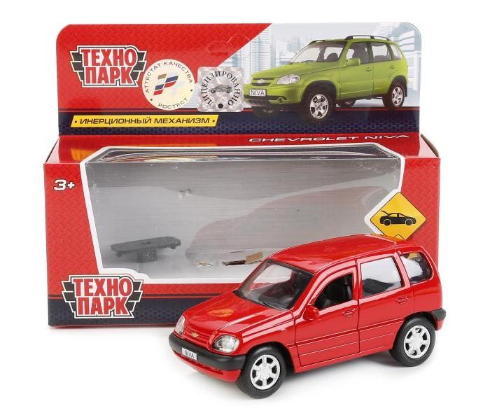 Машины Технопарк Машина инерционная Chevrolet Niva 12 см