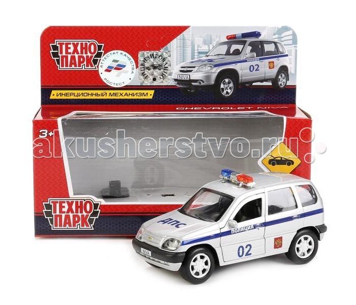 Машины Технопарк Машина инерционная Chevrolet Niva Police 12 см