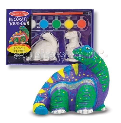 Заготовки под роспись Melissa & Doug Набор Разукрась фигурку динозавра