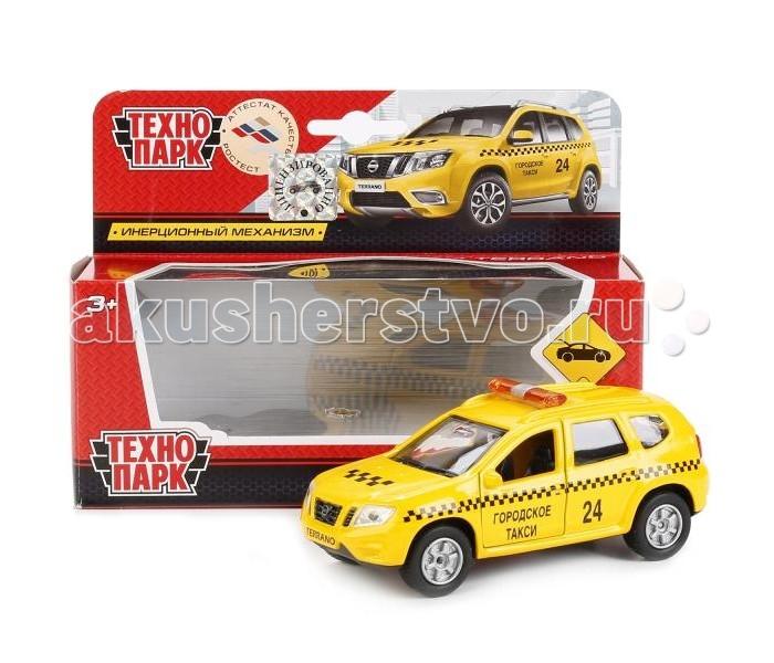 Машины Технопарк Металлическая машина Nissan Terrano Такси 12 см мини машинка miniland такси 9 см синий 27507