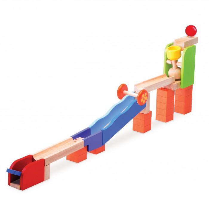 Деревянные игрушки Wonderworld Trix-Track Катимся-Катимся конструктор wonderworld trix track катимся катимся ww 7003