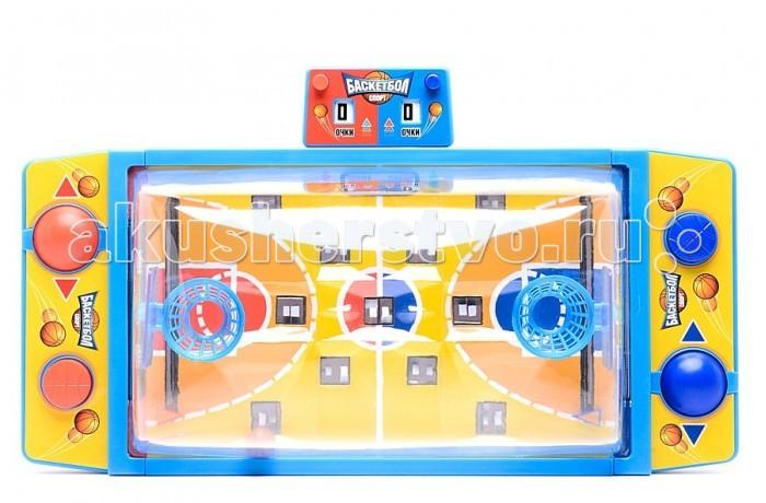 Настольные игры Играем вместе Настольная игра Баскетбол GKF698-R настольные игры играем вместе настольная игра хоккей a553 h30006 r