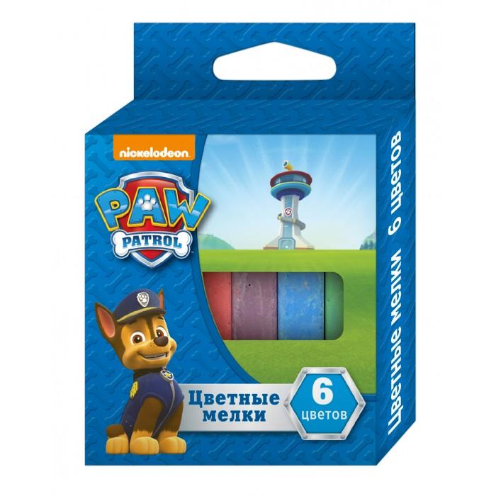 Мелки Щенячий патруль (Paw Patrol) 6 цветов игровой набор paw patrol два щенка в домике 16660 mar